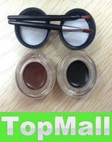 Wholesale LAI High quality New brand Ben Nye long wear Gel Eyeliner and waterproof mascara two colors two brushes set