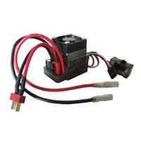 auto electric fan - High V A Brushed ESC Speed Controller w fan for On road Car Truck Auto T