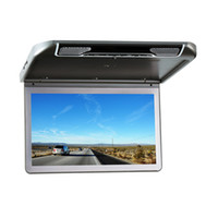 Cheap Car Monitor 13.3 Inch Roof Mount Digital Screen 1920x1080 Monitor with MP5 Headrest Player Built In HDMI Port