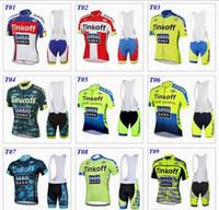 banks suits - 2016 tour de france cycling jerseys Bike Suit pro cycling jersey Tinkoff saxo bank colors cycling jersey short Bib Pants