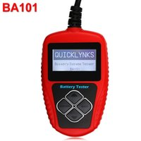 auto battery cca - QUICKLYNKS BA101 Automotive V Auto Battery Tester Vehicle Battery Analyzer CCA