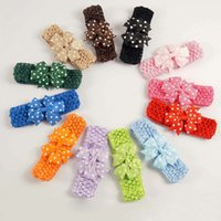 band colours - children Headbands baby kid Hair band Wave Bow colour Hair Sticks Headdress Hair Accessories
