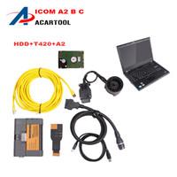 b processor - 2016 Good Quality ICOM A2 Scanner For BMW ICOM A2 B C Faster Processor Diagnostic and Program For BMW ICOM A2 With Lenovo T420