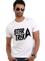 Cheap Quality Men Movie Star Trek T Shirts Vulcan Live Long And Prosper Letter Shirts Casual DIY Top Clothing