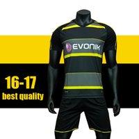 Wholesale HOT sell Borussia Dortmund home away Soccer Jersey REUS RAMOS M GOTZE DEMBELE Football Shirts with short