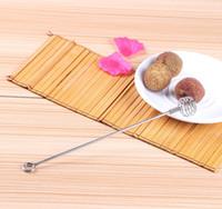 Wholesale 2016 Honey Dipper Stick Server for Honey Stianless Steel Swizzle stick Juicebar Mini Eggbeater Honey Dipper