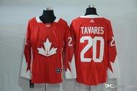 Cheap 2016-2017 Mens Team Canada 20 Tavares Red Olympics World Cup Hockey Ice NHL Jerseys Free Drop Shipping gally