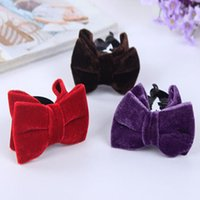Wholesale Hot Sale Novelty Korean Fashion Red Floral Hair Accessories Cloth Flower Hair Clip Hairpin For Women