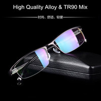 Wholesale High Quality Glasses Frame for Men Alloy TR90 mix Light Weight Eyeglasses Frame for Prescription