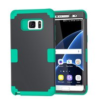 backed securities - For IPhone Plus S Plus Galaxy S7 Security Hybrid Armor Shockproof Hard in1 Front back CasePC Soft TPU Dual Layer Beetle Gel Skin Cover