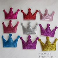 Wholesale Manufacturers selling children hairpin hair hoop head hoop DIY hair accessories Gold crown