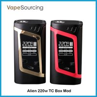 best baby temperature - SMOK Alien TC Box MOD W VW Temperature Control Mod Fit Original TFV8 Baby Best Tank Authentic