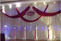 background toppings - Custom Made M M Top Quality Colorful Wedding Background Drapery Decoration Wedding Supplies