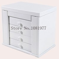 armoire wood - Wooden Box for Jewelry Packaging Jewelry Organizer Display Case Armoire Boite de Rangement