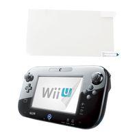 Wholesale Anti Glare LCD Screen Skin Clear Film Protector Cover for Nintendo Wii U Gamepad