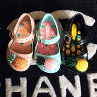 best kids slippers - 2016 new hot sales girl s candy color pvc jelly shoes summer kids breathable sandals fashion elegant best quality slippers