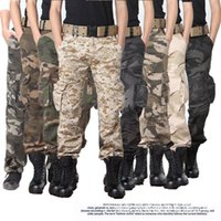 Wholesale Men pants new arrival hunting Camouflage Military Tactical pant army cargo pants combat Hiking militar trousers