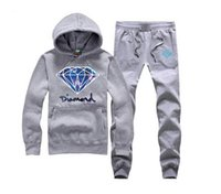 Wholesale 22 Colors New Autumn Mens Stylish Hooded Hoodies Sweatshirt Sportswear Male Patchwork Casual Diamond Supply sweat suit S XXXL