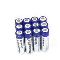 Wholesale 12PCS ETINESAN AA Batteries Long Lasting V Voltage Lithium Batteries for Digital Cameras High Performance