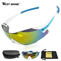 Wholesale Cycling Sunglasses Tactical Glasses Windproof Gafas Ciclismo Oriange Box MTB Bike Bicycle Cycling Glasses Eyewear