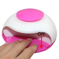 air tools fashion - 2016 new arrivel Fashion Portable Hand Finger Toe Nail Art Polish Paints Dryer Blower Mini Tool Nail Dryer UV Curing Lamp Drop Ship