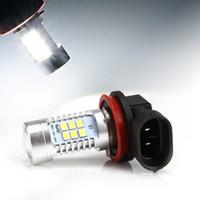 Wholesale DHL Free W White H8 H11 LM High Power CREE LED DRL Car Reserve Light LED Fog Driving Light Lamp Bulb K
