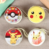 ball sd card - Pokeball Pocket Monsters PokéMon Go Poke Ball Earphone Bag Pikachu Mini Zipper Coin Purse Headphone Box SD Hold Case Charger Line Bags Cases