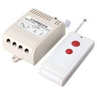 Wholesale New Arrival AC V A Relay CH Wireless RF Remote Control Switch Transmitter Receiver