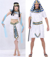 Wholesale Egyptian Princess costumes Cleopatra Halloween cosplay adult costume clothing Egyptian Pharaoh Egypt princess adult