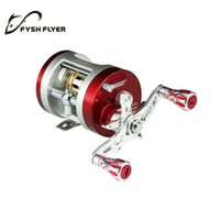 bc fishing - SEAHAWK BC Light Al Alloy Body Cover One Way Clutch Ball Bearing Fishing Reel BB Red And Silver