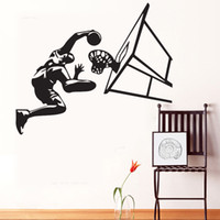 basketball decals - Jam City basketball wall stickers boy s room wallpapers wall decals removable novelty quot quot wallpaper for kids rooms