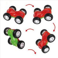 Wholesale Cool double faced car hyperspeed dump rolling car toy educational toys