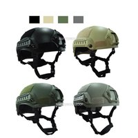 abs protection - Outdoor Equipment Airsoft Paintabll Shooting Head Protection Gear BB Bulletproof Mich Style Tactical Fast Airsoft Helmet
