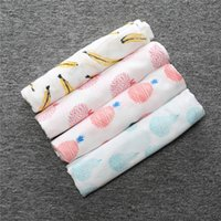 baby blanket yarn patterns - Newborn Baby Swaddle Blankets Bath Towel BOBO patterns banana cotton thin yarns gauze Functional air condition big towel cm
