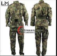 achat en gros de équipement de paintball-Équipement militaire gros-Kryptek Mandrake Army Men Airsoft Paintball Tir BDU chemises de combat uniforme et un pantalon fixé