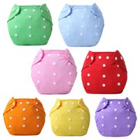 Wholesale Baby Diaper Cover One Size Cloth Diaper Waterproof Breathable TPU Reusable Diaper Covers Pants Urinal Pad for Y Baby Colors Styles