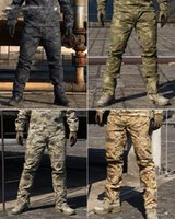 Wholesale REEBOW Tactical Outdoor Pants Men Hunting STALKER Dapple Camouflage Print Trousers Sports Casual Travel SWAT Police Military