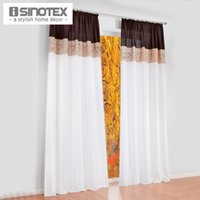 bamboo curtain panels - 1 Luxury Bamboo Fabric Embroidered Patckwork Colors For Living Room Bedroom Semi light Shading Cloth Curtain Panel