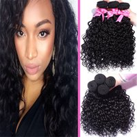 Wholesale T1 Hair Grade A Unprocessed fasion Brazilian Deep Wave Human Hair Weave Natural Black B