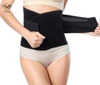 belly belts - Women Men Waist Training Corsets Cincher Girdle Belt Slimming Belly Maternity Postnatal Shaper Postpartum Slim Shaperwear Modeling Strap