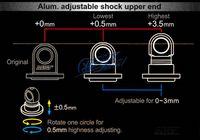 alum crystals - MST Alum adjustable shock upper end shock crystals shock bluetooth shock bluetooth