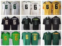 anthony for men - Oregon Ducks College D Thomas Anthony Thomas Football Jerseys De Anthony For Sport Fans Embroider Green Yellow Black White