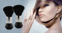 Wholesale 2016 new Barber Neck Duster Soft Brush HairdressAing Hair Cutting Salon Stylist Black