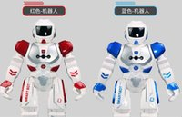 Wholesale Electric remote control intelligent charging robot for children