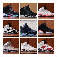 angry white men - 2016 air retro VI men Basketball shoes Angry bull Carmine Infrared Oreo White Infared Black blue Olympic women sports shoes mens sneakers