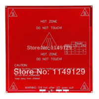 Wholesale Geeetech RepRap Heatbed PCB MK2B Hotbed Hot Plate Dual Power V for D Printer Prusa Mendel Update of MK2A