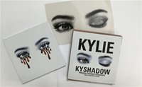 al por mayor magic color cosmetics-Los ojos mágicos más nuevos de la paleta 9 de KyShadow del sombreador de ojos de los cosméticos de los ojos de Kylie de la fábrica colorean en 1 sistema Envío libre 1pcs