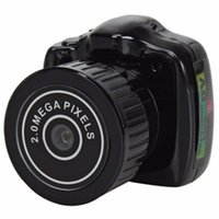Wholesale Y2000 DC V Megapixel Portable Mini Camcorder HD Video Camera Pocket DV DVR Digital Recorder