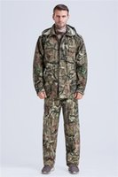 Wholesale Hot Sale OFF New Break UP Camo Hunting Jacket Camouflage Hoodies trousers Camo Hunting Suit Fishing Hunting Clothing