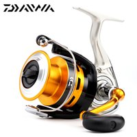 Wholesale Original Daiwa New CREST A A A A Spinning Fishing Reel BB Front Drag Carp Fishing reel